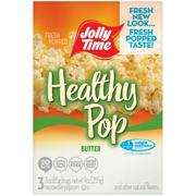 Jolly Time, Healthy Pop, Microwave Pop Corn Bags, Butter