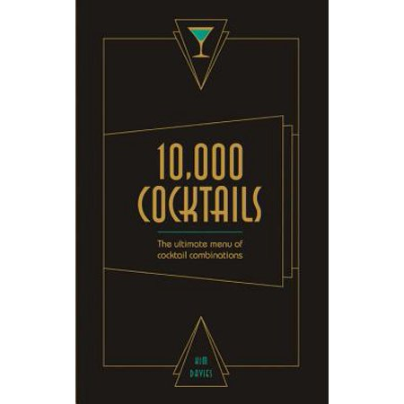 10,000 Cocktails : The ultimate menu of cocktail combinations - Halloween Cocktail Menu