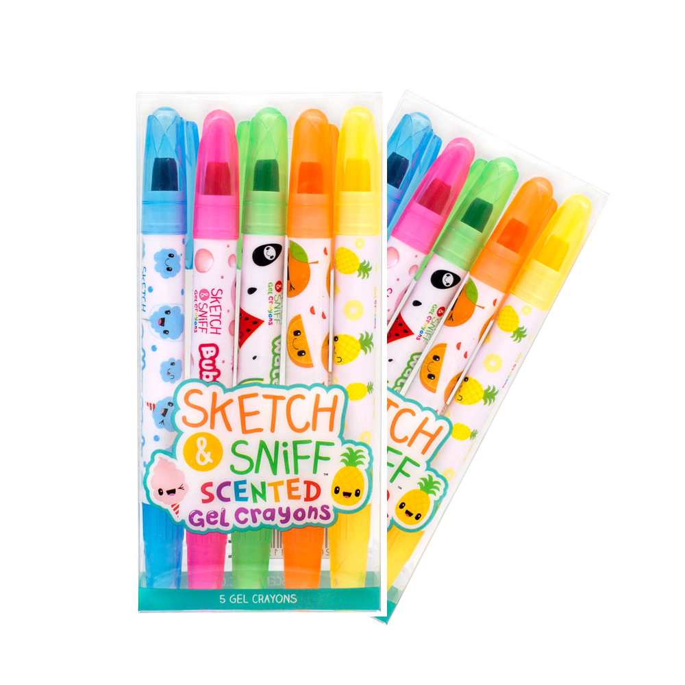 Scentco Sketch & Sniff Scented Gel Crayons 10-Pack