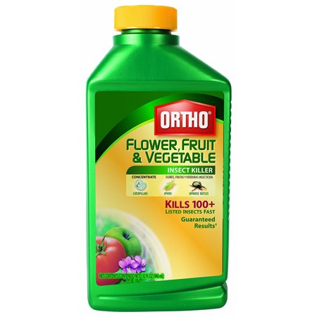 Ortho 0345110 Flower, Fruit and Vegetable Insect Killer Concentrate, 32-Ounce (Garden (Best Insecticide For Vegetable Garden)