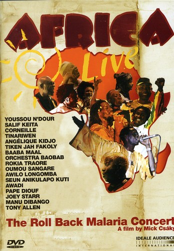 Africa Live: The Roll Back Malaria Concert by JUXTAPOSITIONS