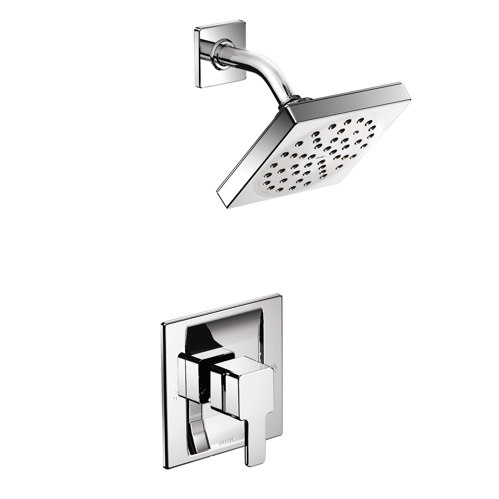 Moen 90 Degree TS2712 Posi-Temp Shower Faucet with Optional Valve by