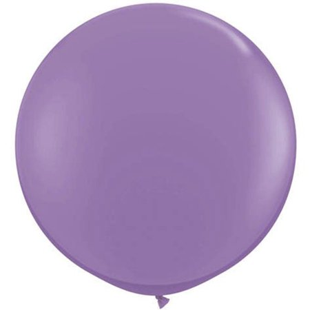 Qualatex Easter Gigantic Spring Lilac 3' Latex Balloons, Purple, 2 Pack