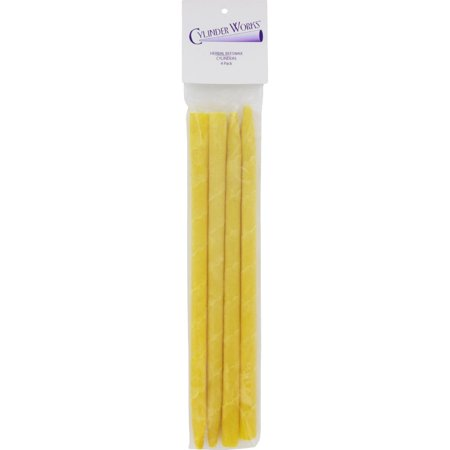 Cylinder Works Herbal Beeswax Ear Candles - 4 Pack