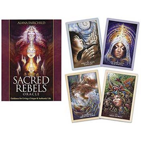Party Games Accessories Halloween Séance Tarot Cards Sacred Rebels oracle by Fairchild & - Adults Only Halloween Party Games