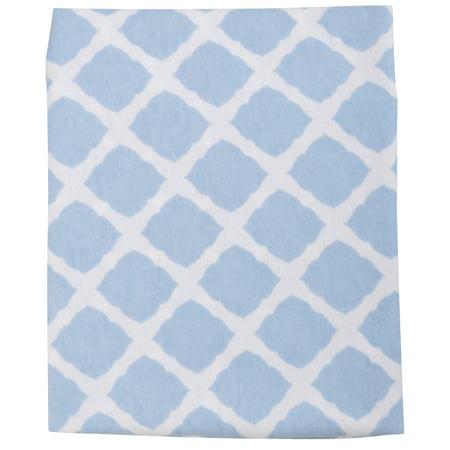 Kushies® Ben & Noa Blue/White Changing Pad Cover