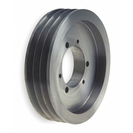 "Gates V-Belt Pulley,Detachable,3Groove,13.2""OD QD3/5V13.20"