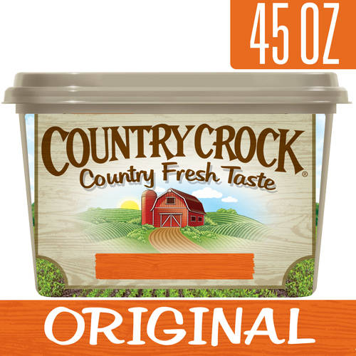 Country Crock Original Vegetable Oil Spread Tub, 45 oz