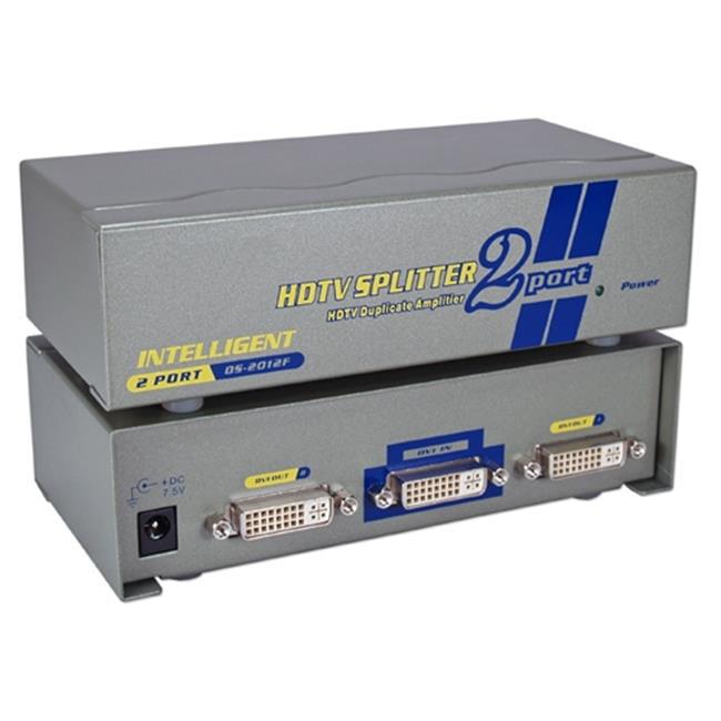 Qvs MDVI-12H 2Port DVI, HDTV Digital Video Splitter & Dis...