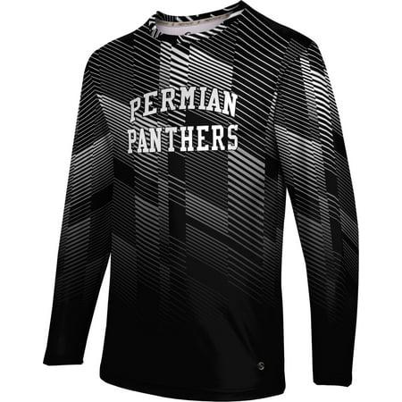 Prosphere Mens Permian High School Bold Long Sleeve Tee