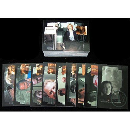 2001 Inkworks The X-Files Season 6 and 7 Trading Card Set (90) X-files Trading Card