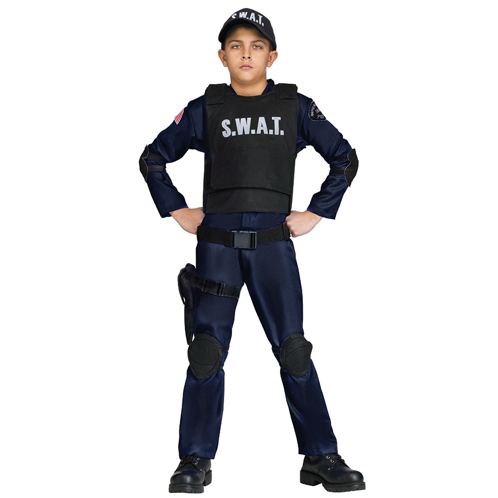 Boys S.W.A.T. Commando Halloween Costume