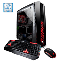 iBUYPOWER N27B015iP - Gaming Desktop PC - Intel i5 8400 - 8GB DDR4 Memory - NVIDIA GeForce GTX 1060 3GB - 2TB Hard Drive - 16GB Optane Memory - Wi-Fi - Window 10 Home 64bit(Monitor Not Included) - N27B015iP