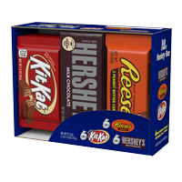 Hershey's, Halloween Full Size Candy Bars Variety Pack, 18 Ct.