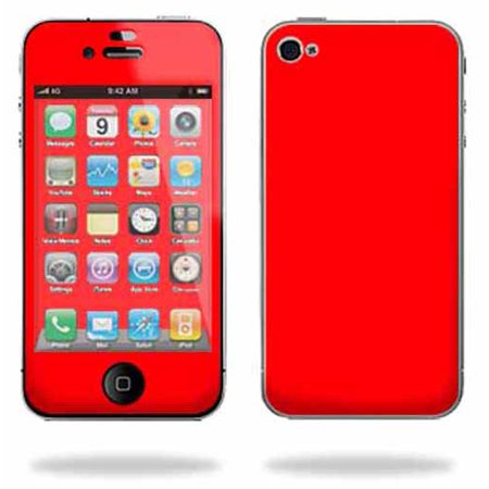 Mightyskins Apple iPhone 4 or iPhone 4S AT&T or Verizon 16GB 32GB Cell Phone wrap sticker skins Solid