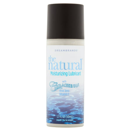 - DreamBrands Carrageenan Natural Water Based Lubricant - 1.7 oz