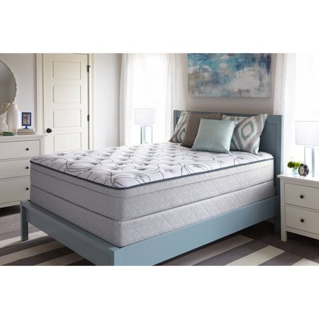 Sealy Faux Euro Top Cathcart Mattress, Plush, Multiple Sizes