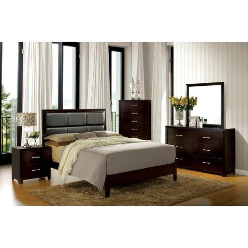 Furniture of America Barett 4-Piece Espresso Bedroom Set, Multiple Sizes by Furniture of America