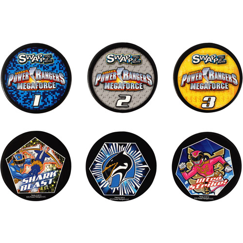 Swappz Power Rangers Power Up Coins