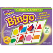 Trend, TEPT6061, Colors and Shapes Learner's Bingo Game, 1 Each