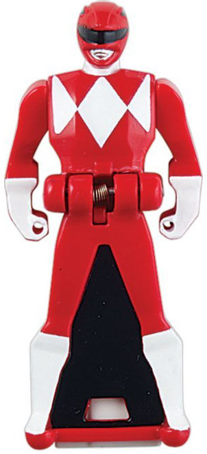 Power Rangers Super Megaforce Mighty Morphin Red Ranger Key by