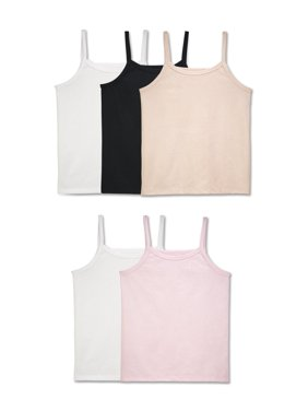 Fruit Of The Loom Wear Me Two Ways Camis, 5 Pack (Little Girls & Big Girls)