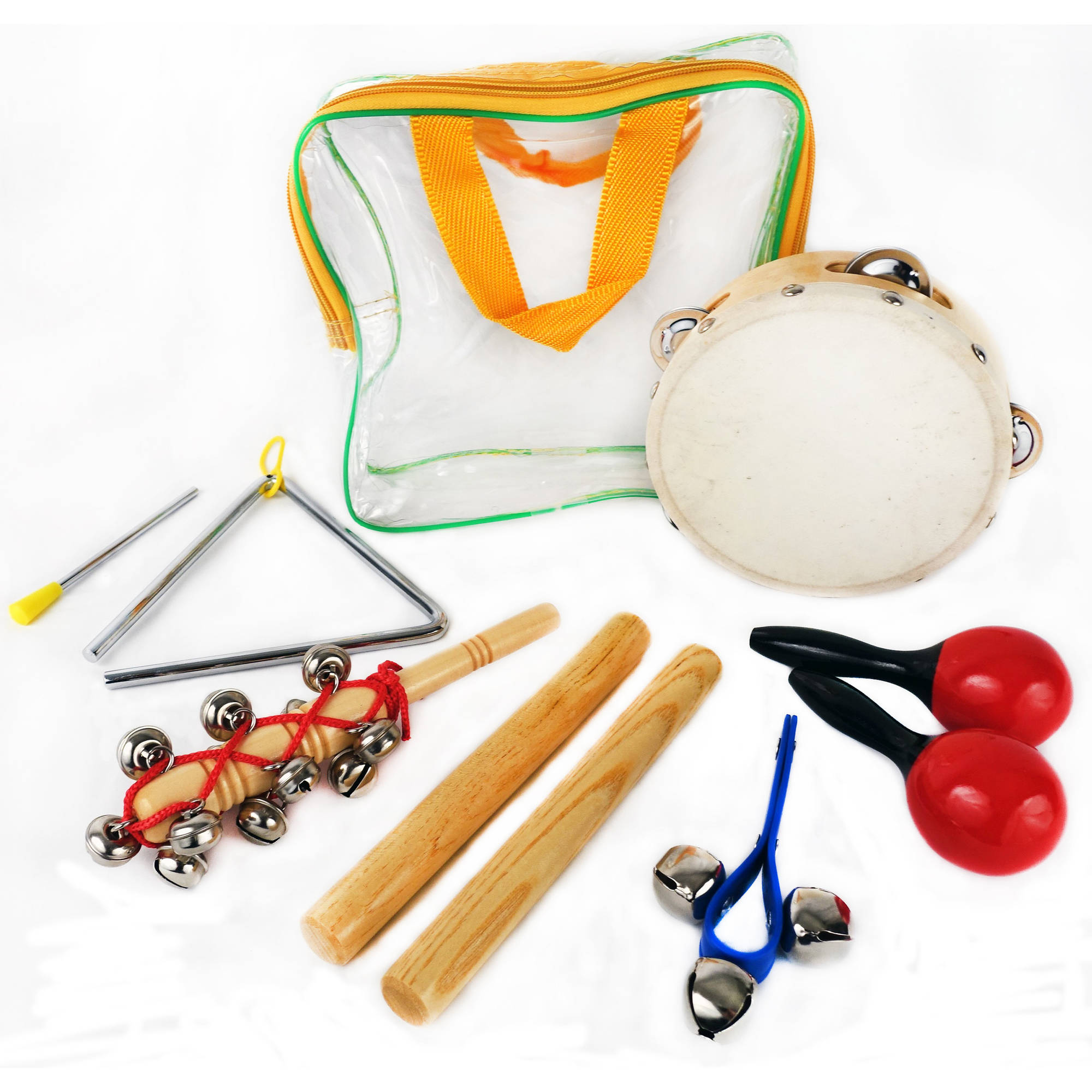GP Percussion GPPK6T 6-Piece Percussion Pack with Bag