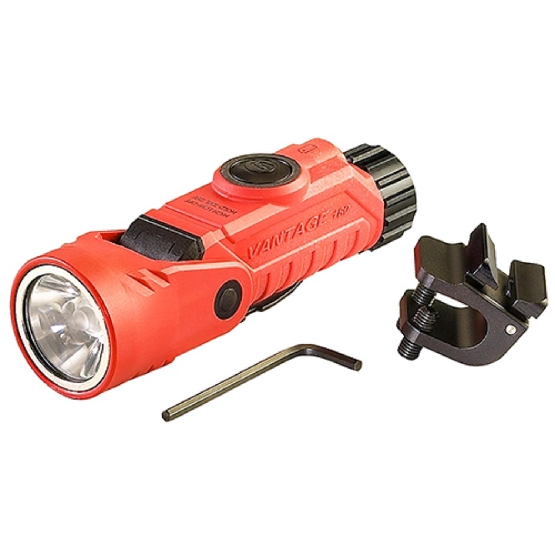 Streamlight Vantage 180 Right Angle w/Helmet Clip, Orange