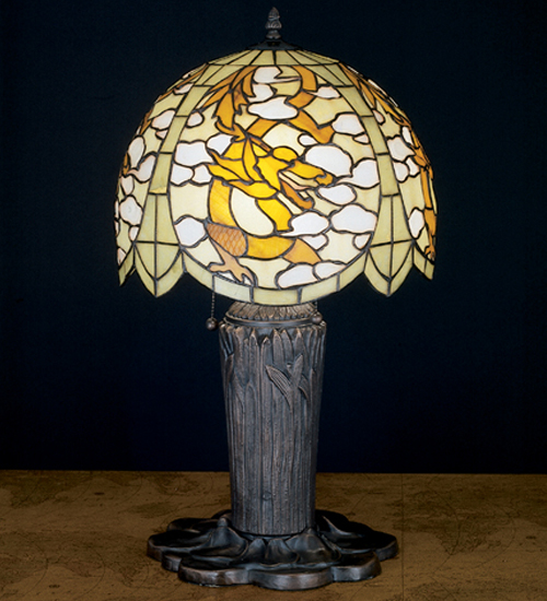 "25""H Chinese Dragon Table Lamp 27567"