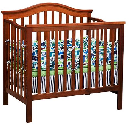 Delta - Liberty 2-in-1 Mini Crib, Dark Cherry - Walmart.com