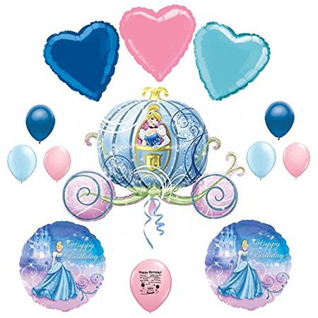 Cinderella Birthday Party Balloon Kit (Cinderella Birthday)