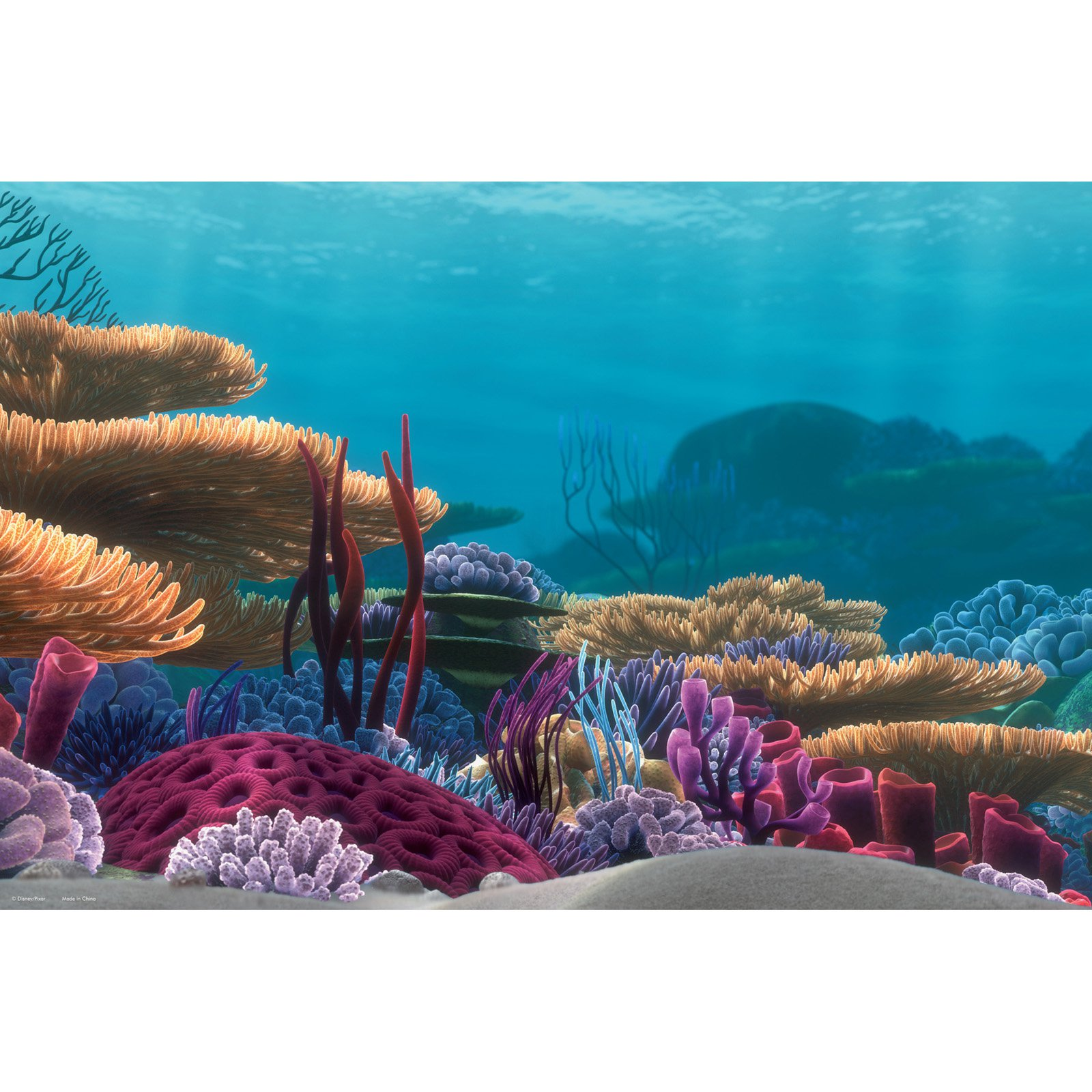 image relating to Fish Tank Background Printable called Penn Plax Getting Nemo 20 gal. Tank Historical past