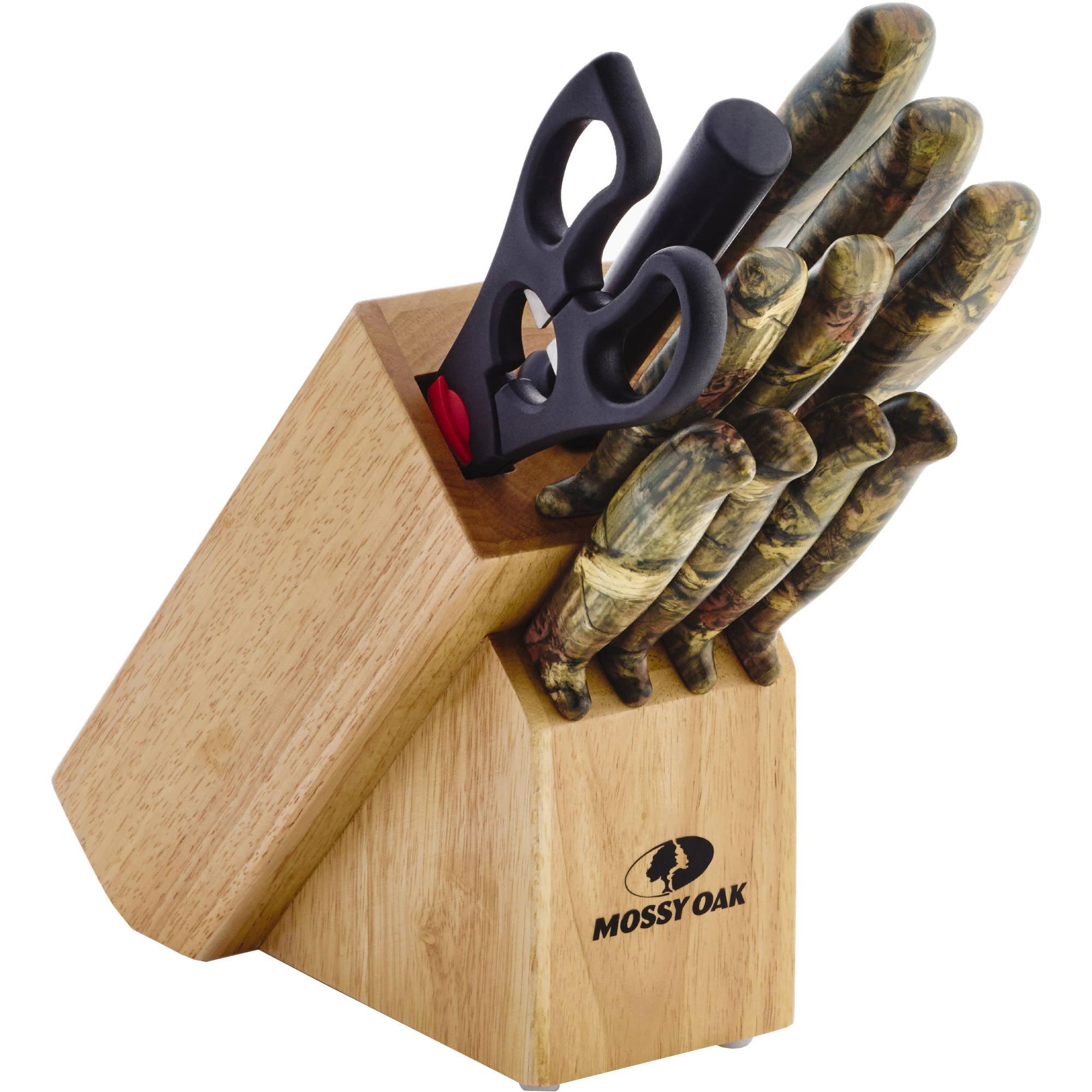 Mossy Oak 12-Piece Pattern Handle Cutlery Set - Walmart.com