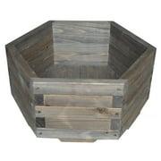 16 in. Six Sided Garden Barrel