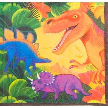 Amscan BB013984 Dinosaur Party Napkins - 16-Pack](Amscan Com)