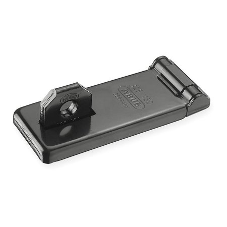 Image of ABUS 125/150 High Security Hasp, Hardened Steel, Black