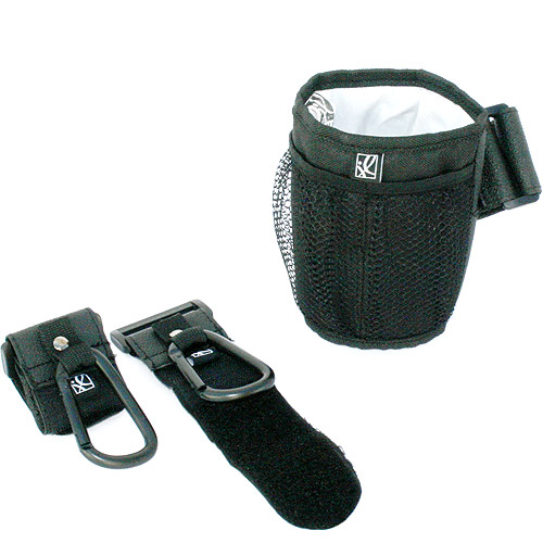 JL Childress - Stroller Accessory Starter Kit with Cup Holder and Stroller Hooks