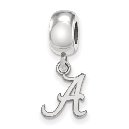 Alabama Bead Charm Extra Small (3/8 Inch) Dangle (Sterling