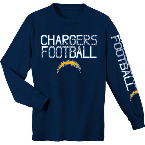 NFL Los Angeles Chargers Youth Long Sleeve Cotton Tee