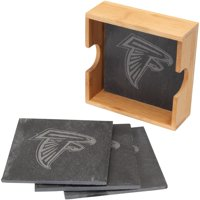 Atlanta Falcons 4-Pack Slate Square Coaster Set