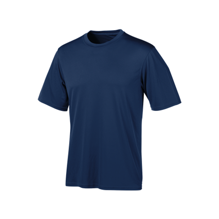 Champion Double Dry Training Short - Champion Tactical TAC22 XL NY Men's Navy Short Sleeve Double Dry Tee - Size XL