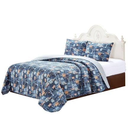 Scrap Jeans 4 Piece Set Super King 103 X 111 3 Standard Pillow