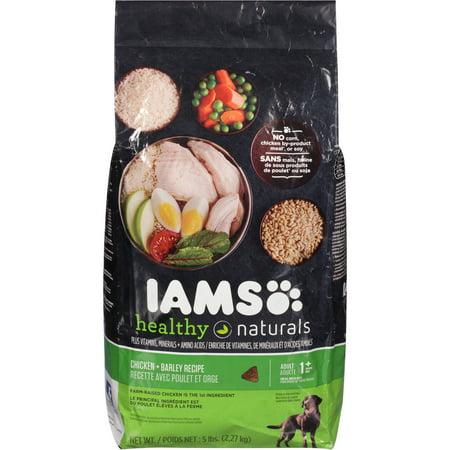 Iams healthy naturals chicken barley recipe adult 1 years dog iams healthy naturals chicken barley recipe adult 1 years dog food 5 lb forumfinder Choice Image