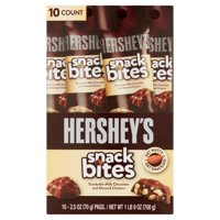 Hershey's Snack Bites Tube, 2.5 Oz., 10 Count