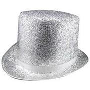 Dress Up America 661 Halloween Costume Silver Top Hat