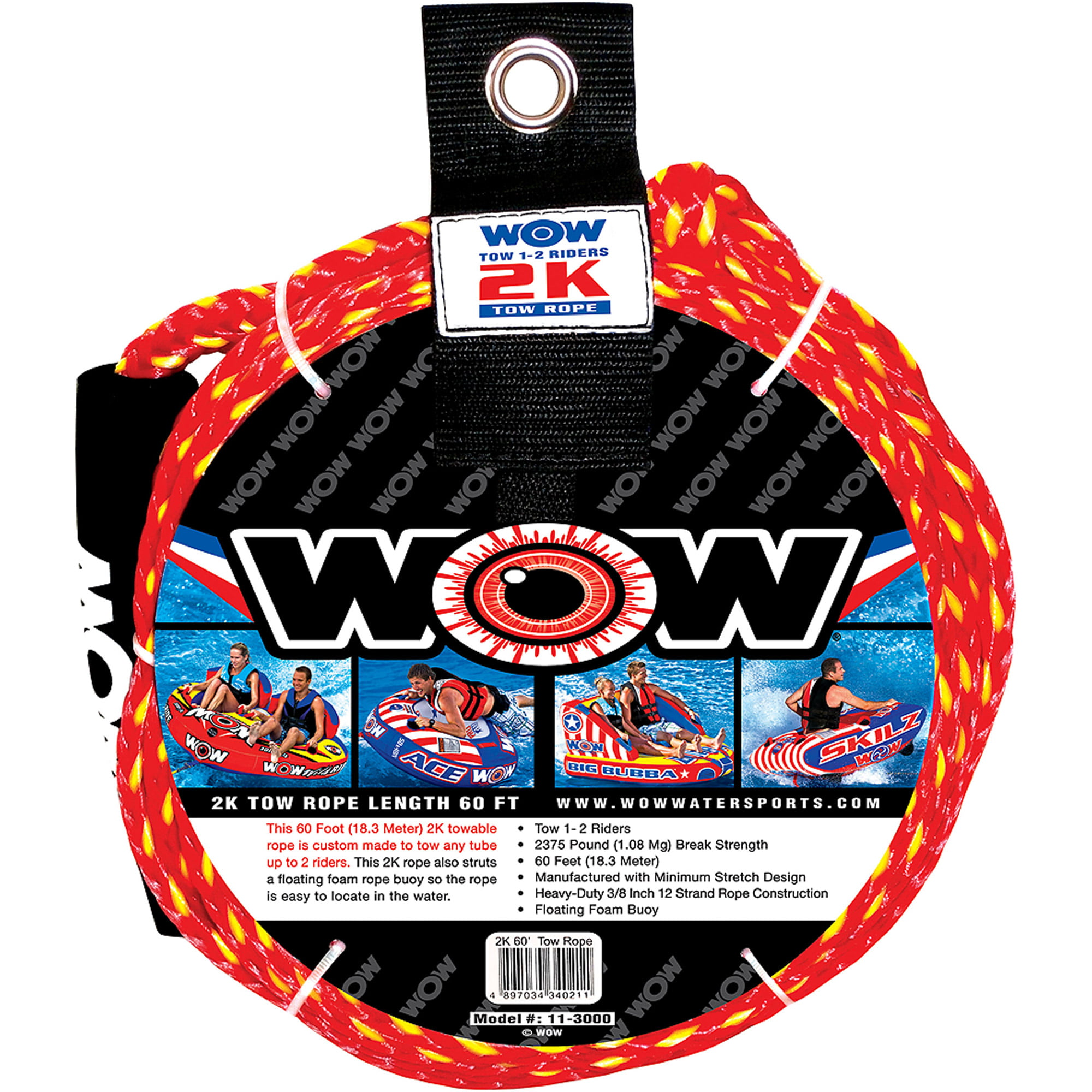 WOW 2K 60' Tow Rope by Generic