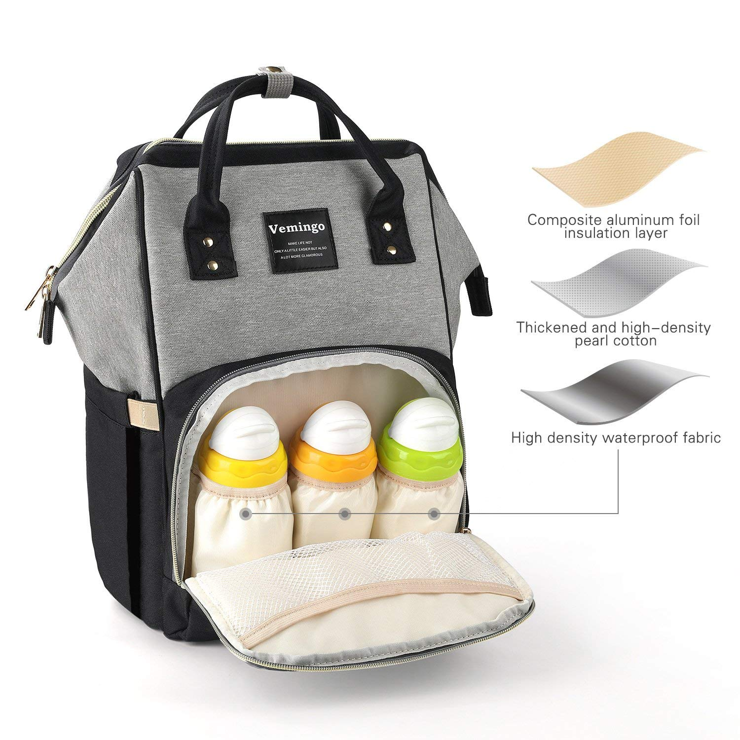 Organizer Baby Care Nappy Pouch Stroller Accessories Waterproof Diaper Bag
