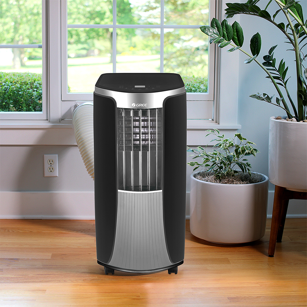 Lovely Gree 12,000 BTU Portable Air Conditioner