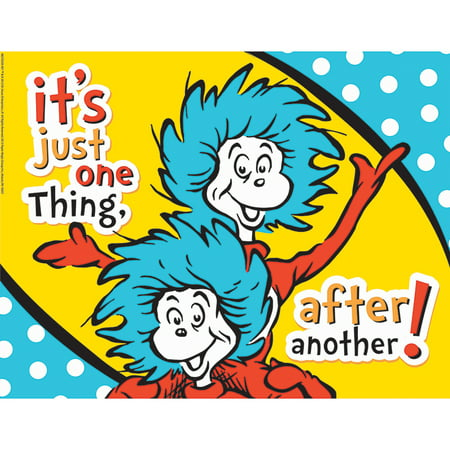 DR SEUSS ONE THING AFTER ANOTHER 17X22 POSTER](Dr Seuss Poster)