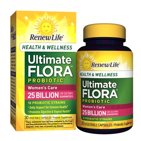 Renew Life Women S Care Probiotic Ultimate Flora Health